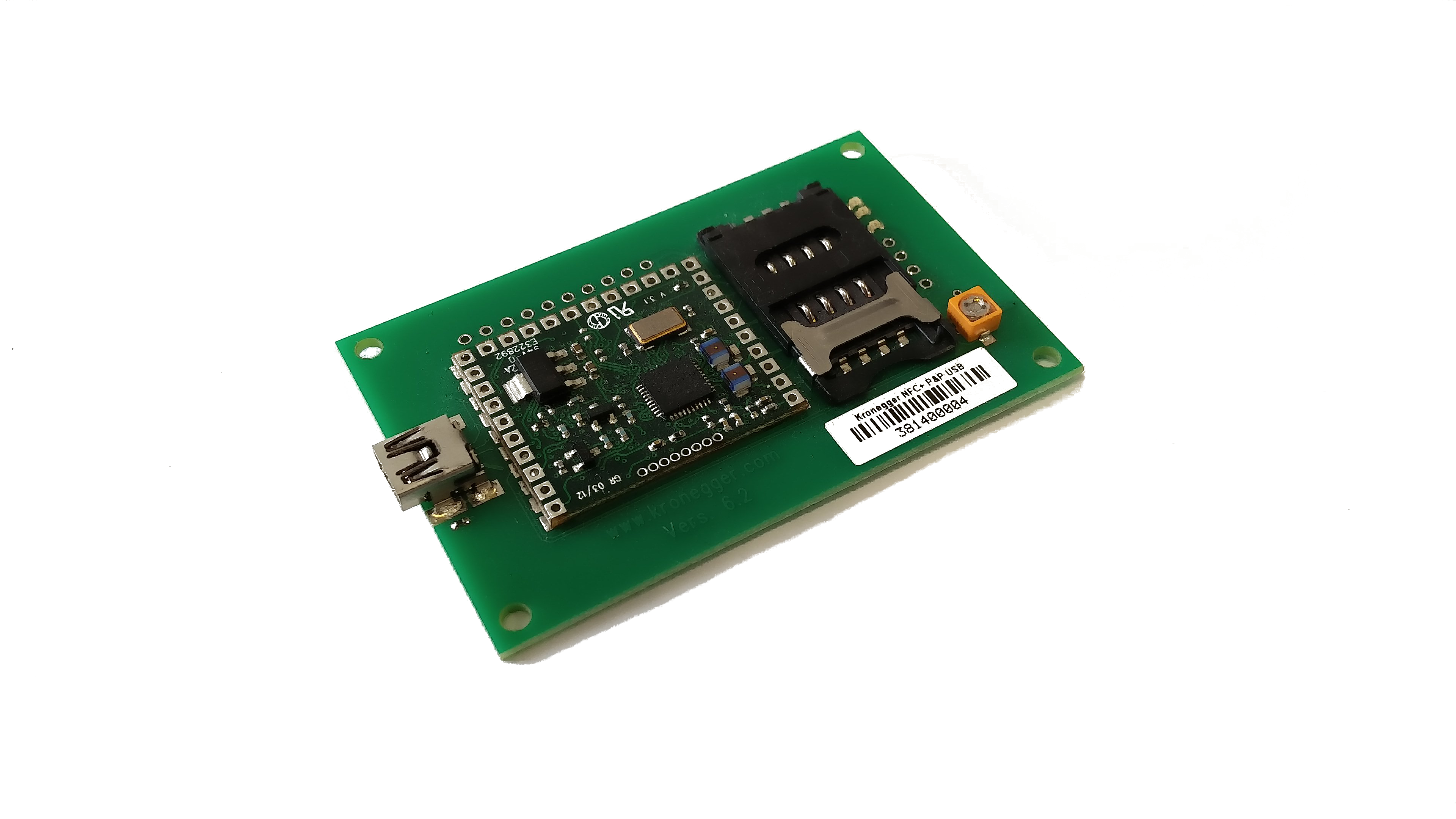 A complete Serial/USB Board, ready for plug it and start reading